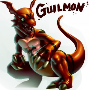 Guilmon by Neodokuro